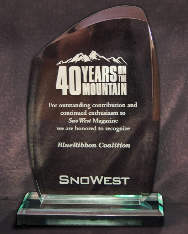 BRC & Coalition Leaders Honored At SnoWest 40th Anniversary Celebration