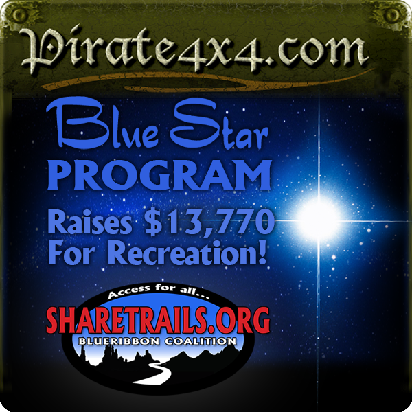 Pirate 4x4 Blue Star Program: Ongoing Support For Recreation Access
