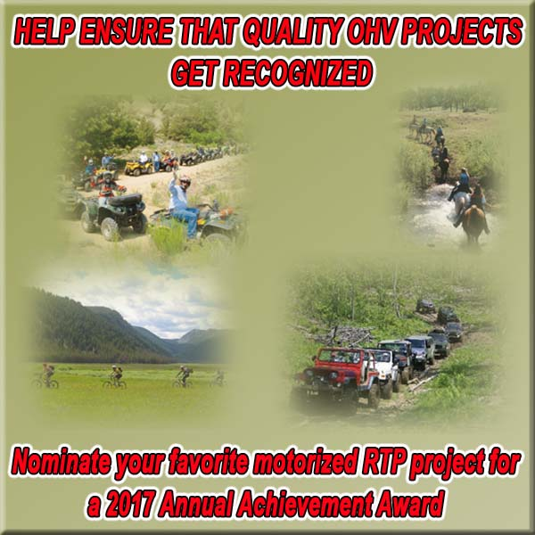 Nominate Your Favorite Motorized RTP Project for Award