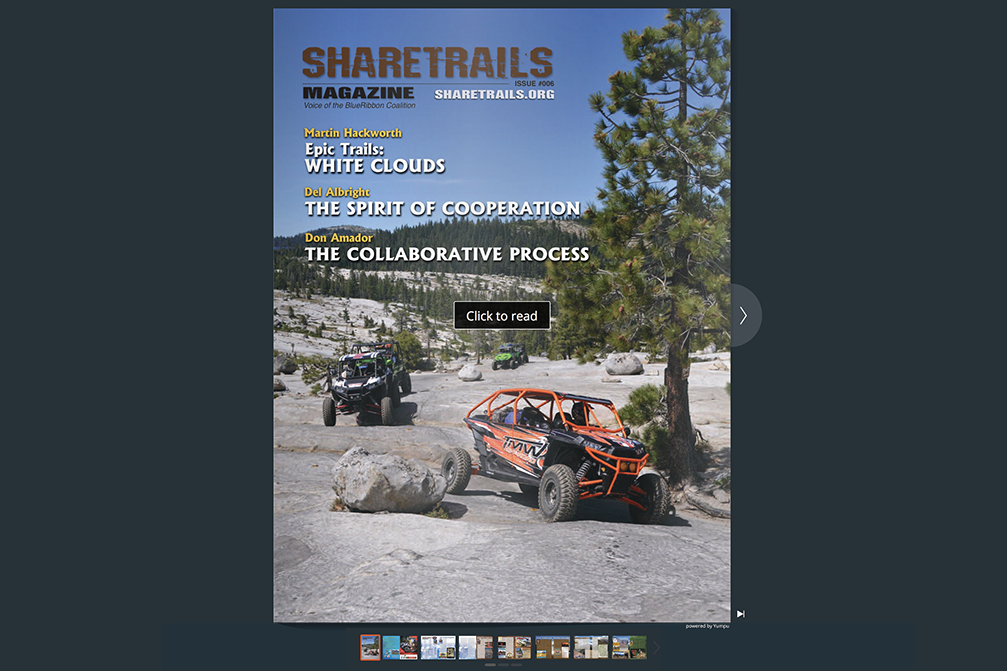 Sharetrails Magazine, Issue #006