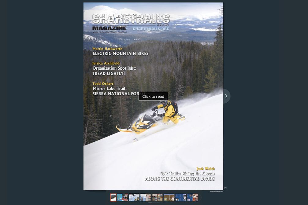 Sharetrails Magazine, Issue #007