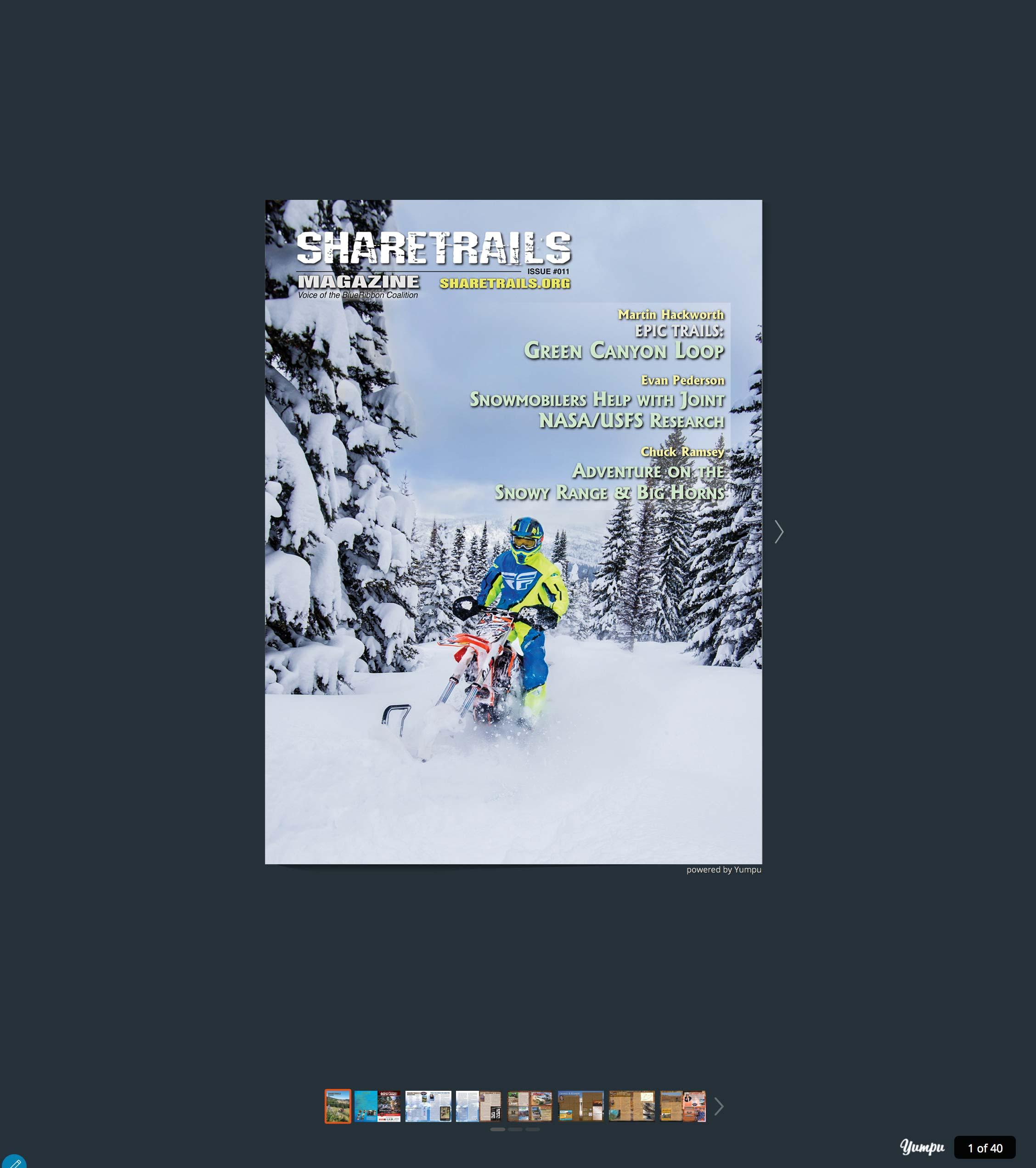 Sharetrails Magazine, Issue #011