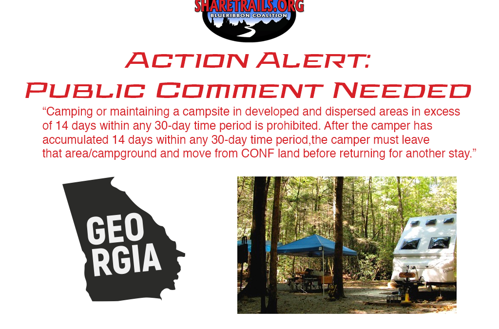 Chattahoochee-Oconee National Forest to Impose Camping Limits | Action Alert | Public Comment Requested