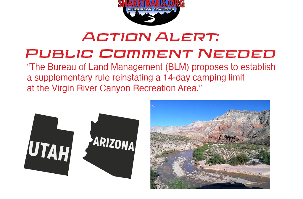 Virgin River Recreation Area Proposes Camping Limits | Action Alert | Public Comment Requested