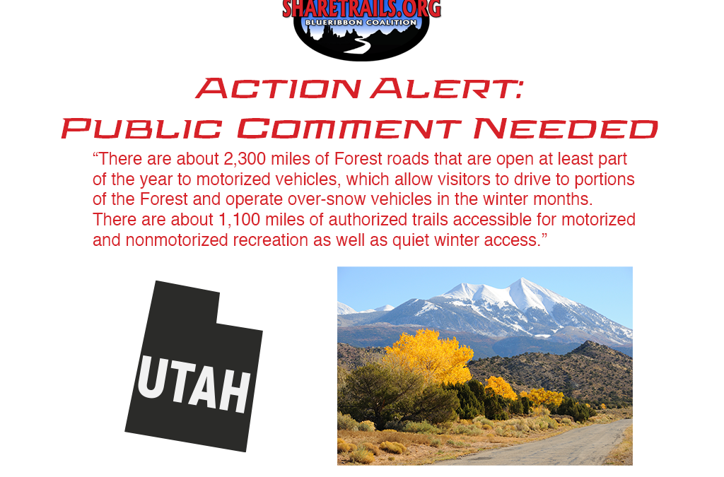 Restrictions and Closures Proposed in Manti-La Sal National Forest